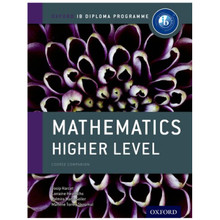 IB Mathematics Higher Level Course Book - Oxford IB Diploma Program - ISBN 9780198390121