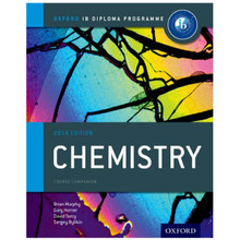 IB Chemistry Course Book: 2014 Edition - Oxford IB Diploma Program - ISBN 9780198392125