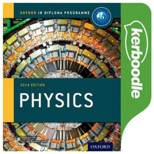 IB Physics Kerboodle Online Resources - Oxford IB Diploma Programme - ISBN 9780198390749