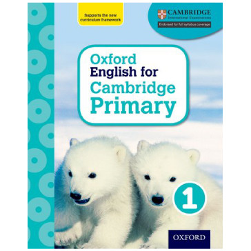 Oxford English for Cambridge Primary Student Book 1 - ISBN 9780198366256