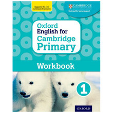 Oxford English for Cambridge Primary Workbook 1 - ISBN 9780198366294