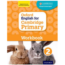 Oxford English for Cambridge Primary Workbook 2 - ISBN 9780198366300