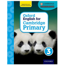 Oxford English for Cambridge Primary Student Book 3 - ISBN 9780198366270