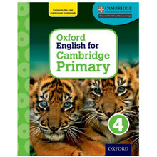 Oxford English for Cambridge Primary Student Book 4 - ISBN 9780198366287