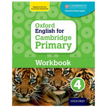 Oxford English for Cambridge Primary Workbook 4 - ISBN 9780198366324