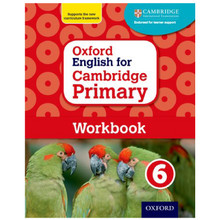Oxford English for Cambridge Primary Workbook 6 - ISBN 9780198366348