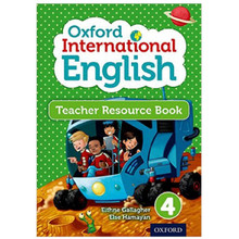 Oxford International Primary English Teacher Resource Book 4 - ISBN 9780198390367