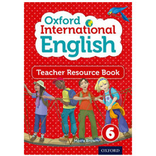 Oxford International Primary English Teacher Resource Book 6 - ISBN 9780198388869