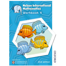Nelson International Mathematics: Stage 4: Age 8–9 Workbook 4 (2nd Edition) - ISBN 9781408518984