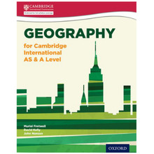 Geography for Cambridge International AS & A Level Student Book- ISBN 9780198399650