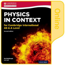 Physics in Context for Cambridge International AS & A Level 2nd Edition: Online Student Book - ISBN 9780198354758