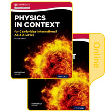 Physics in Context Cambridge AS & A Level 2nd Edition: Print & Online Student Book Pack - ISBN 9780198417811