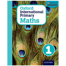 Oxford International Primary Maths: Stage 1: Age 5–6 Student Book 1 - ISBN 9780198394594