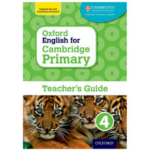Oxford English for Cambridge Primary Teacher's Guide 4 - ISBN 9780198366393