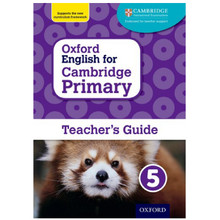 Oxford English for Cambridge Primary Teacher's Guide 5 - ISBN 9780198366409