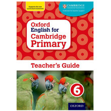 Oxford English for Cambridge Primary Teacher's Guide Book 6 - ISBN 9780198366416