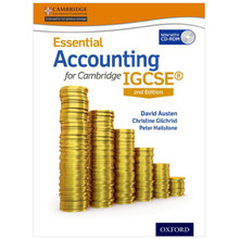 Essential Accounting for Cambridge IGCSE Student Book 2nd Edition- ISBN 9780198399506
