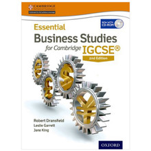 Essential Business Studies for Cambridge IGCSE Student Book 2nd Edition - ISBN 9780198399568