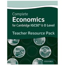 Complete Economics for Cambridge IGCSE & O Level Teacher Pack - ISBN 9780199129591