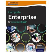 Complete Enterprise for Cambridge IGCSE & O Level Student Book - ISBN 9780198359005