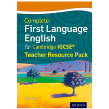 Complete First Language English for Cambridge IGCSE Teacher Resource Pack - ISBN 9780198389071
