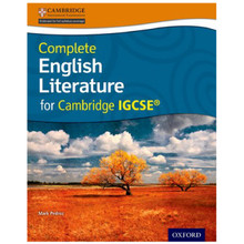 Complete English Literature for Cambridge IGCSE Student Book - ISBN 9780198399322