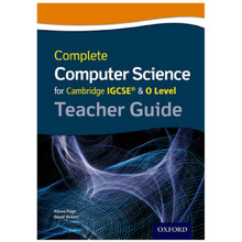 Complete Computer Science for Cambridge IGCSE & O Level Teacher Resource Pack - ISBN 9780198367277