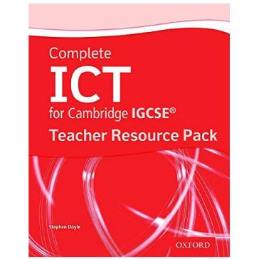 Complete ICT for Cambridge IGCSE Teacher Resource Pack - ISBN 9780199129324