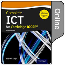 Complete ICT for Cambridge IGCSE Online Student Book 2nd Edition - ISBN 9780198357858