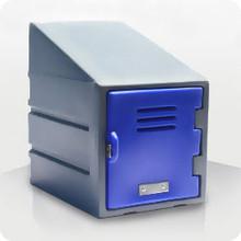 Single Plastic FOOD Locker with Slanted Top Option