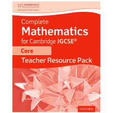 Complete Mathematics for Cambridge IGCSE Core Teacher Resource Pack - ISBN 9780198378389