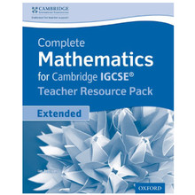 Complete Mathematics for Cambridge IGCSE Extended Teacher Resource Pack - ISBN 9780198378365
