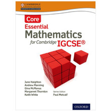 Essential Mathematics for Cambridge IGCSE (Core) Student Book - ISBN 9781408516508