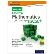 Essential Mathematics for Cambridge IGCSE (Extended) Student Book - ISBN 9781408516522