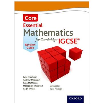 Essential Mathematics for Cambridge IGCSE (Core) Revision Guide