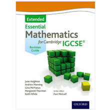 Essential Mathematics for Cambridge IGCSE (Extended) Revision Guide - ISBN 9781408516539