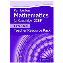 Pemberton Mathematics for Cambridge IGCSE (Extended) Teacher Pack - ISBN 9780198378419