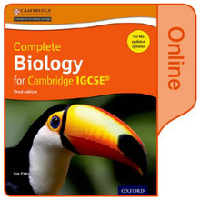 Complete Biology for Cambridge IGCSE Online Student Book - ISBN 9780198310334