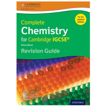 Complete Chemistry for Cambridge IGCSE Revision Guide - ISBN 9780198308737