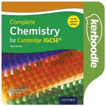 Complete Chemistry for Cambridge IGCSE Kerboodle - ISBN 9780198310372