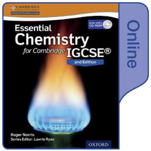 Essential Chemistry for Cambridge IGCSE 2nd Edition Online Student Book - ISBN 9780198355182