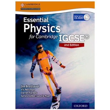 Essential Physics for Cambridge IGCSE 2nd Edition Print Student Book - ISBN 9780198399261