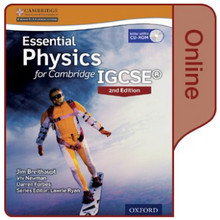 Essential Physics Cambridge IGCSE 2nd Edition Online Student Book - ISBN 9780198355229