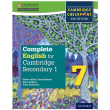 Complete English for Cambridge Secondary 1 Stage 7 Student Book - ISBN 9780198364658