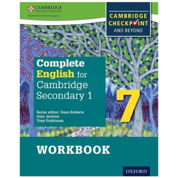 Complete English for Cambridge Secondary 1 Stage 7 Workbook ISBN 9780198364689