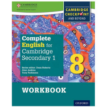 Complete English for Cambridge Secondary 1 Stage 8 Workbook - ISBN 9780198364696