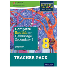 Complete English for Cambridge Secondary 1 Stage 8 Teacher Pack - ISBN 9780198364726