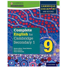 Complete English for Cambridge Secondary 1 Stage 9 Student Book - ISBN 9780198364672
