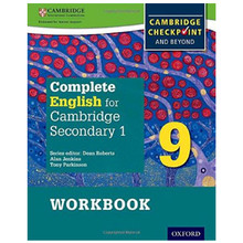 Complete English for Cambridge Secondary 1 Stage 9 Workbook - ISBN 9780198364702