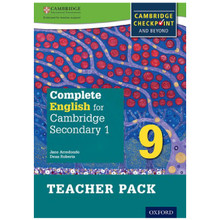 Complete English for Cambridge Secondary 1 Stage 9 Teacher Pack - ISBN 9780198364733